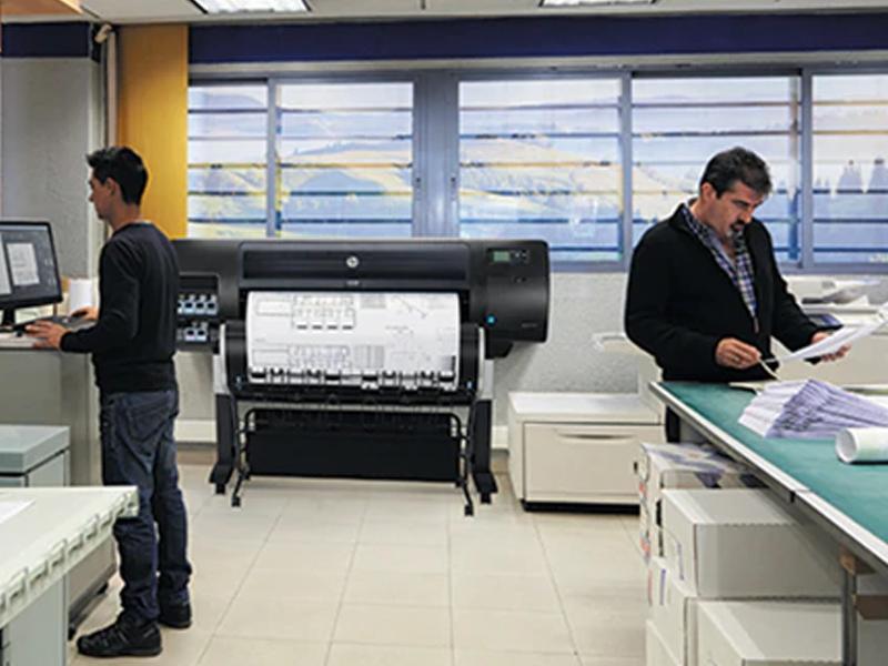Impressora multifunções HP DesignJet série T830